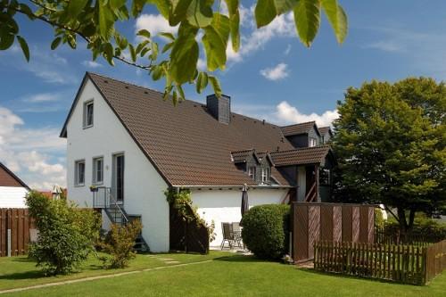 Haus Alte Schmiede, Gartenansicht