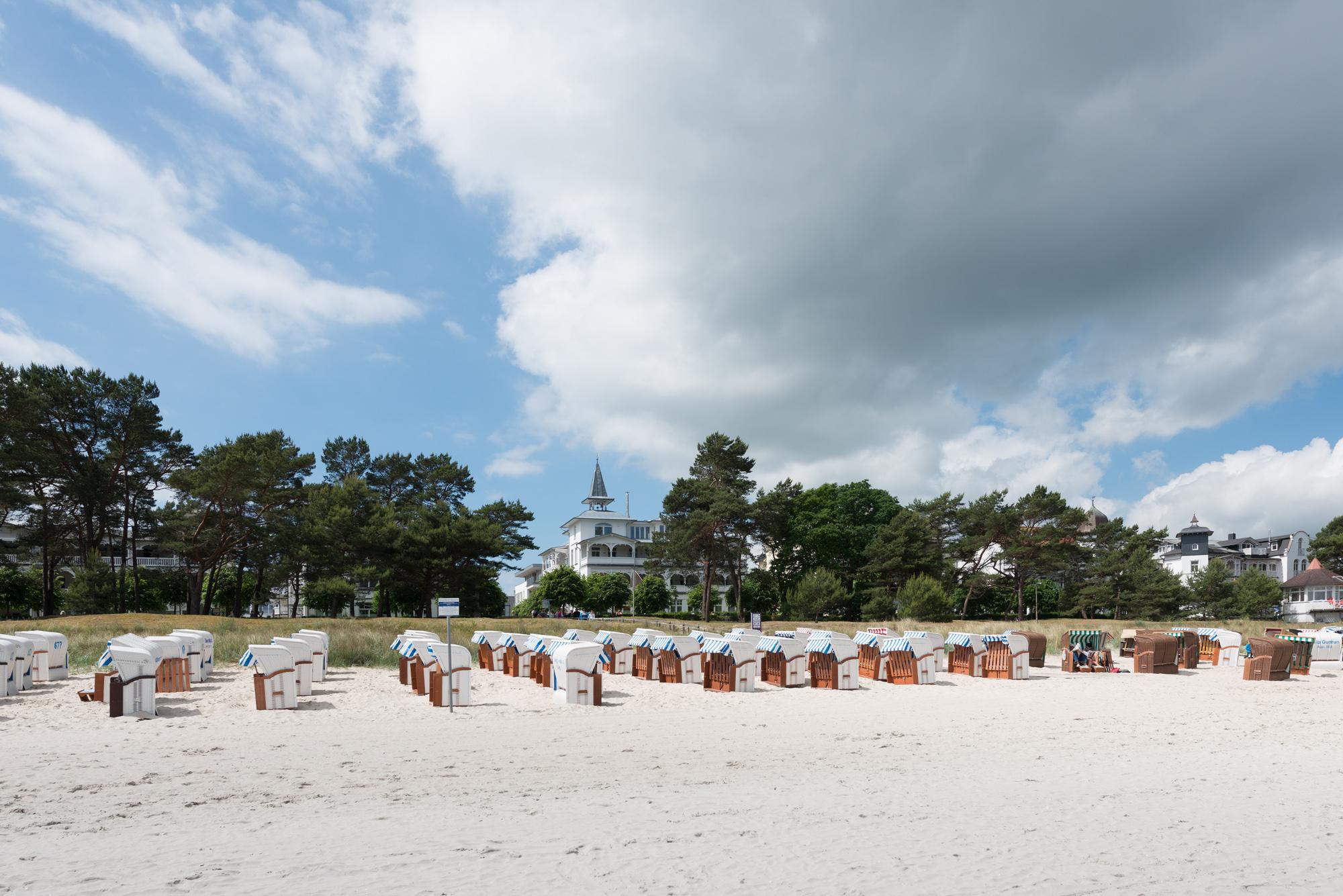 Villa Seeblick Binz vom Strand